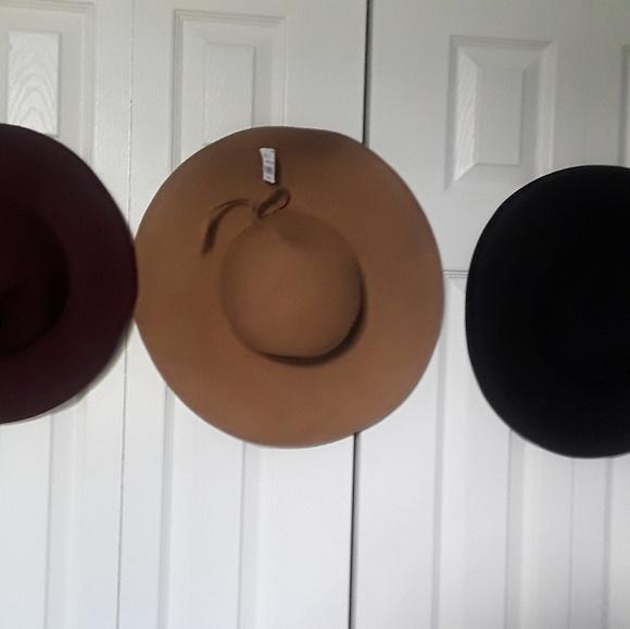 ec97f051daa Accessories - Ladies Floppy Wide Brim Wool Felt Hat